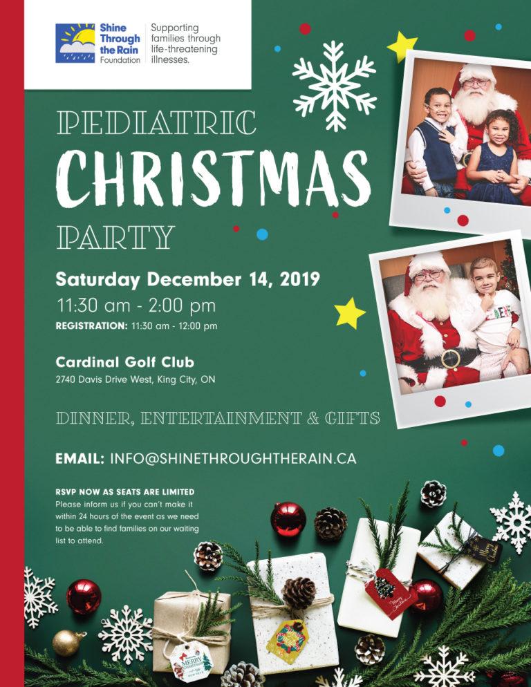 Pediatric Christmas Party